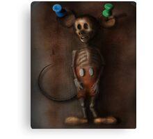 Mickey Exhumation Canvas Print