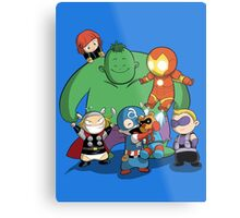 Baby Avengers Metal Print