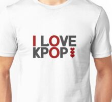 I Love Kpop - Black Unisex T-Shirt