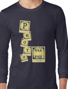 Photography Collage Long Sleeve T-Shirt