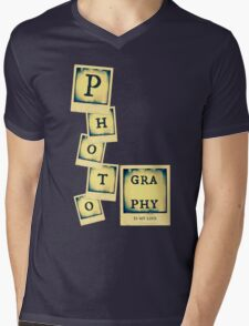 Photography Collage Mens V-Neck T-Shirt
