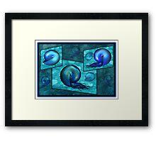 ©DA Fractal Nautilus IAB Framed Print