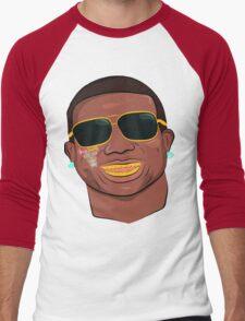 Gucci Mane-Burr-Trap God Men's Baseball ¾ T-Shirt