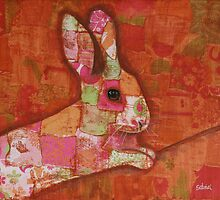 Rabbit Collage by Catherine Gabriel