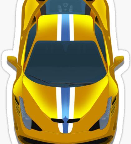 Ferrari 458 speciale Sticker