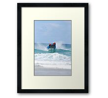 Thundercats at Fistral 2 Framed Print
