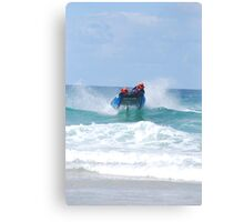 Thundercats at Fistral 2 Canvas Print