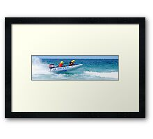 Thundercats at Fistral 4 Framed Print