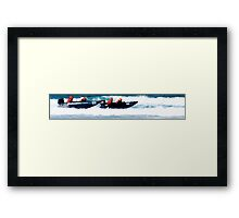 Thundercats at Fistral 5 Framed Print