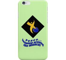 PEACE Leaping Around the World iPhone Case/Skin