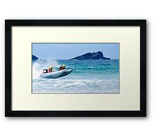 Thundercats at Fistral 9 Framed Print