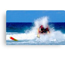 Thundercats at Fistral 10 Canvas Print
