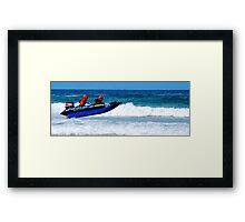 Thundercats at Fistral 11 Framed Print