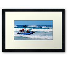 Thundercats at Fistral 12 Framed Print