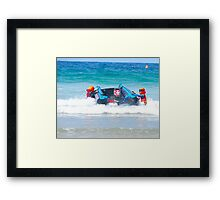 Thundercats at Fistral 13 Framed Print