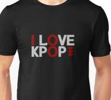 I Love Kpop - White Unisex T-Shirt