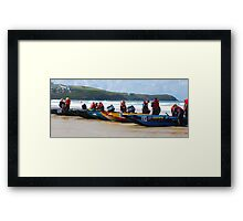 Thundercats at Fistral 15 Framed Print