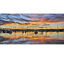 Vivid Sunset - Valentine NSW Australia Photographic Print