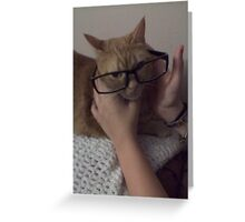 Smartcat Greeting Card