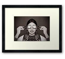 Sushi Eyes Framed Print