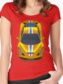 Ferrari 458 speciale Women's Fitted Scoop T-Shirt