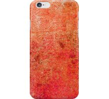 Abstract Orange iPhone Case Cool Retro New Grunge Texture iPhone Case/Skin
