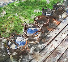 The Buckets of Grand Portage by GryffinDesigns