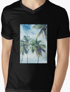 Palm Trees 2 Mens V-Neck T-Shirt