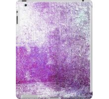 Abstract iPad Case Violet Retro Cool Lovely New Grunge Texture iPad Case/Skin