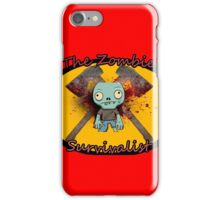 The Zombie Survivalist iPhone Case/Skin