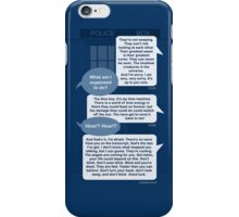 Dr Who - Blink Messaging iPhone Case/Skin