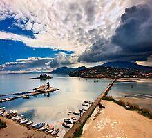Storm coming @Kanoni, Corfu by Hercules Milas