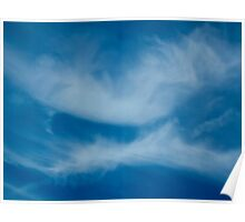 Kissing clouds Poster