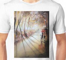 Break in the clouds - Watercolor Unisex T-Shirt