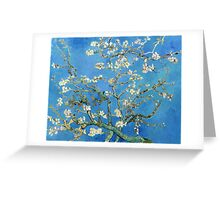 Vintage Vincent Van Gogh Almond Blossoms Greeting Card