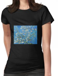 Vintage Vincent Van Gogh Almond Blossoms Womens Fitted T-Shirt