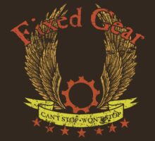 Fixed Gear - Can't Stop Won't Stop by simonbreeze