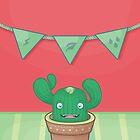 Un pequeño cactus by Monstruonauta