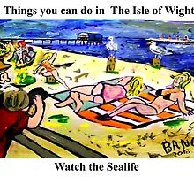Sayings 'Things you can see in the Isle of Wight - Sealife' by BBBango