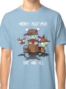 Merry Platypus Classic T-Shirt