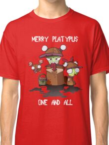 Merry Platypus Classic T-Shirt
