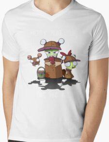 Merry Platypus Mens V-Neck T-Shirt