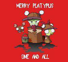 Merry Platypus Unisex T-Shirt