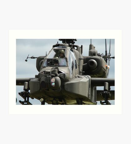 Apache in your face... Art Print