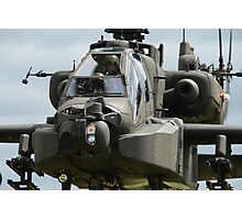 Apache in your face... Photographic Print