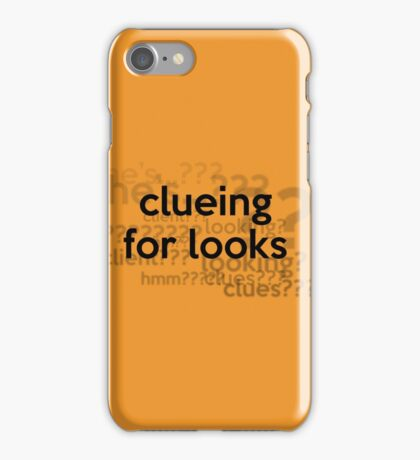 [Sherlock] - Clueing for Looks  iPhone Case/Skin