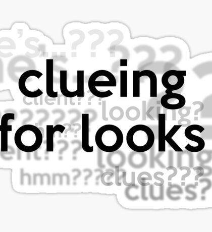 [Sherlock] - Clueing for Looks  Sticker