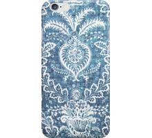 Blue & White Pattern iPhone Case/Skin