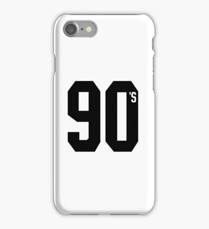Nineties 90's iPhone Case/Skin