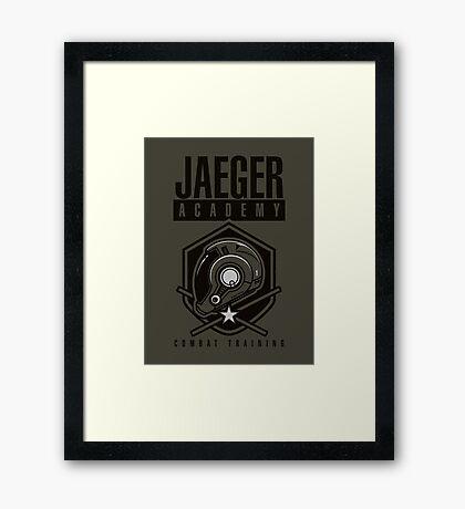 Jaeger Academy Framed Print